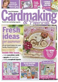 Cardmaking&Papercraft Magazines - This is a paid service