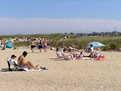 Jetties Beach - North Shore - Nantucket: Easy bike ride from town or take the NRTA shuttle bus in season. Great beach for families.