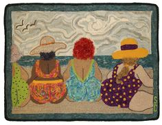 "VERY CHEEKY by Sue Cunningham of Encompassing Designs -- one of my faves from her ""women of abundance"" series!"