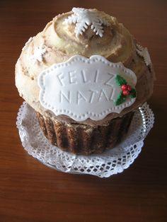Criadora Implacável: Cupcake Gigante Natalino