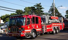 Truck 1 is assigned to Elmont Fire Department - Truck Company 707 in Elmont, NY