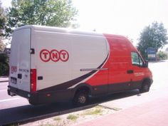 TNT Branded Mercedes Delivery Vehicle