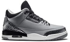 Buy and sell authentic Jordan 3 Retro Wolf Grey shoes and thousands of other Jordan sneakers with price data and release dates. Design Nike Shoes, Air Jordan Iii, Christmas Shoes, Authentic Jordans, Jordan Outfits, Shoe Gallery, Fresh Shoes, Boys Shoes, Jordan Retro