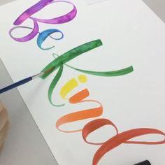 How to create faux watercolor using @tombowusa Dual Brush Pens