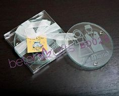 Newlywed Coasters Hot Sale BETER-BD028 Wholesale Wedding Favours, Birthday Party Favors