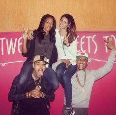 Trey Songz n Chris Brown