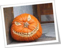 halloween carved pumpkin