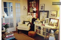 small apartment in Brooklyn brownstone in Carroll Gardens; i love this style