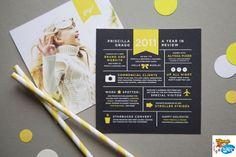 CV design carte de voeux