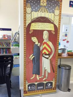 Magna Carta display at Virginia Water Community Library.