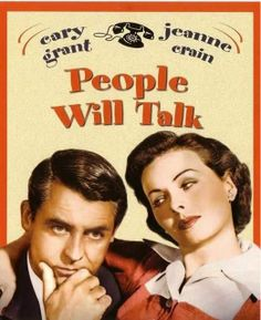 PEOPLE WILL TALK (1951) - Cary Grant & Jeanne Crain - Produced & Directed by Joseph L. Manciwietz - 20th Century-Fox - DVD Cover Art