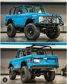 old cars and trucks Jeep Truck, Lifted Trucks, Cool Trucks, Chevy Trucks, Pickup Trucks, Small Trucks, Jeep 4x4, Old Ford Bronco, Bronco Ii