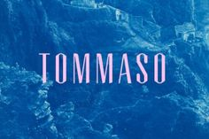 Tommaso Typeface by Fivethousand Fingers