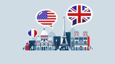 Off Udemy Coupons, Free Online Courses American English for French Speakers How To Speak French, Learn French, Learn English, Free Courses, Online Courses, French Course, Cognates, Learning Techniques, English Language Learners