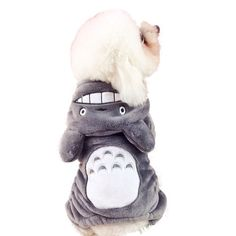 Winter Warm Soft Halloween Pet Costume Jumpsui Totoro Lion Dog Clothes Puppy Cat Fleece Fur Hoodie Coat Clothing * You can find out more details at the link of the image. (This is an affiliate link and I receive a commission for the sales)