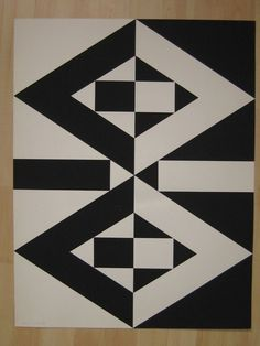 Flag Design, Design Art, Color Optical Illusions, Notan Art, Graphic Design Lessons, Motif Vintage, Composition Art, Polygon Art, Principles Of Design