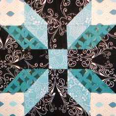wild rose & square. I need to find out how to make this block!  I love the 3D effect, so cool!