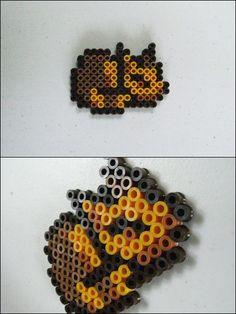 Chrono Trigger cat sleeping bead sprite magnet by 8bitcraft.deviantart.com on @deviantART
