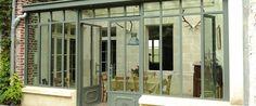 Turpin-Longueville - Site officiel 2017 - Vérandas et verrières à l'ancienne en acier et fer forgé Milly La Foret, Facade, Garage Doors, Windows, Site Officiel, Outdoor Decor, Home Decor, Room, Rum