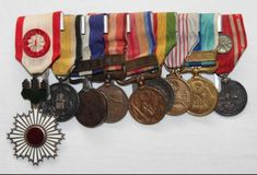 Medal Honor, Military Decorations, Imperial Japanese Navy, Badges, Ribbons, Flags, Appreciation, Empire, Awards