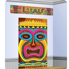 Puedes decorar paredes, puertas con éste set decorativo para tus fiestas #luau…