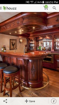 Top 40 Best Home Bar Designs And Ideas For Men | For the Home ...