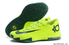 super popular 37dc9 01655 Nike KD VI (6) Green Green Neon Green, Yellow, Nike Lebron,
