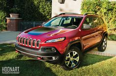 2014 Trailhawk - seriously thinking this is gonna be my next vehicle :) Jeep Trailhawk, Jeep Cherokee Trailhawk, First Drive, Vroom Vroom, Creepers, Jeeps, Bobs, Cars Motorcycles, Outdoors
