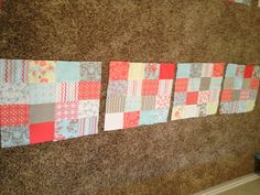 Free quilt patterns for beginners with this step by step tutorial on the easy peasy fat quarter patchwork quilt.