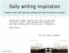 daily writing inspiration 04