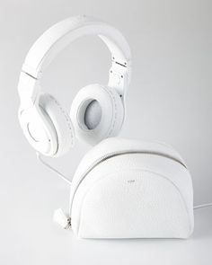FENDI White Beats On-Ear Headphones by Beats by Dr. Dre. […