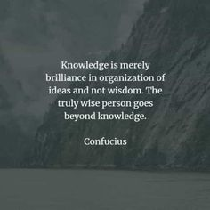 72 Famous quotes and sayings by Confucius. Here are the best Confucius quotes that you can read to learn more about his beliefs to acquire k. Confucius Quotes, Wise Person, Knowledge And Wisdom, When You Know, Funny People, Famous Quotes, Revenge, Bible Verses, All About Time