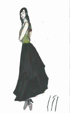 장미 드레스