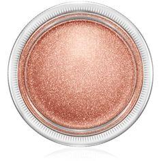 Mac Soft Serve Eyeshadow found on Polyvore featuring beauty products, makeup, eye makeup, eyeshadow, quite yummy, mac cosmetics eyeshadow, creamy eyeshadow and mac cosmetics