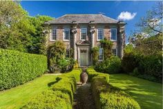Great Trevarran a glorious Queen Anne, Doll's House with wonderful period details, Grade II listed, on 5.5acres for Sale, July'15
