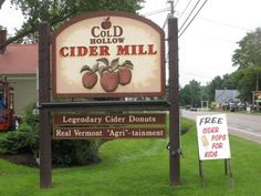 Cold Hollow Cider Mill - Waterbury, VT