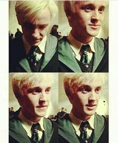 And here is Tom Felton being perfect as always... I mean, being Draco Malfoy.