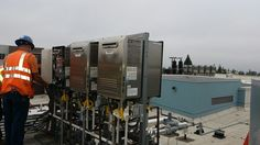 Straight off the job site! Totalling over 45 units, this commercial install at Cal State Northridge features 3 new banks of NCC1991 ODs. Thanks to Gary Hernando for toughing out the gloomy weather and sending in some great shots!