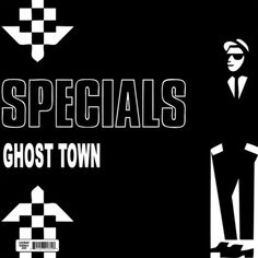 """The Specials Ghost Town On Numbered Limited Edition Vinyl LP Special Limited Edition vinyl from the only ska band that mattered, The Specials. Features the all time classics """"Ghost Town,"""" """"A Messa Ska Music, Jungle Music, New Wave Music, Ska Punk, Song Of The Year, Rude Boy, Northern Soul, Rockn Roll, Dubstep"""