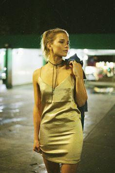 The LA-Girl Way To Wear The Slip Dress