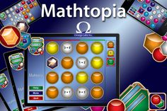 Math Coachs Corner: Appy Hour: Mathtopia + Mathtopia is similar to the addictive tile-matching puzzle game Bejeweled. This is a GREAT app for practicing facts and engaging the brain! Math Classroom, Classroom Activities, Stem Activities, Classroom Ideas, Fun Math, Maths, Kids Math, Math Websites, Math School