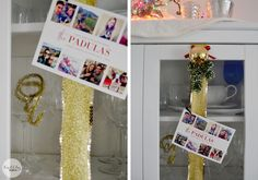 A simple way to display Christmas cards by Bubbly Design Co.