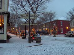 Main Street Nantucket at Christmas | Flickr - Photo Sharing!