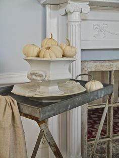 Chateau Chic - Boo Pumpkins in Ironstone Compote