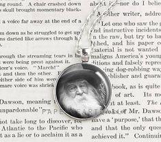 Walt Whitman Author Necklace Literature Writer Jewelry