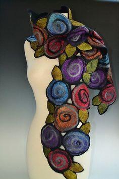 Irene+Scarf by Elizabeth+Rubidge: Silk+: