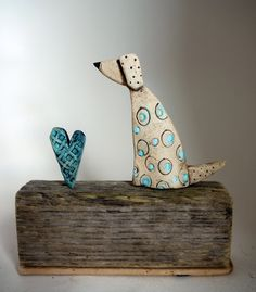 Ceramic Clay, Ceramic Painting, Ceramic Pottery, Fimo Clay, Pottery Animals, Ceramic Animals, Tile Crafts, Clay Crafts, Paper Clay