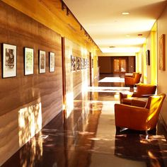 Gorgeous interior rammed earth wall