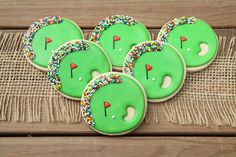 Golf Ball Favors / Golf Favors / Father's Day Gifts / Golf Party Decorations / Gifts for Dad / Golf Course Sugar Cookies cookies) Golf Cookies, Cookie Favors, Cut Out Cookies, Iced Cookies, Golf Party Favors, Golf Party Decorations, Gingerbread Man Cookies, Christmas Sugar Cookies, Golfball