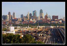 Kansas City Skyline from Briarcliff
